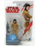 "Star Wars The Last Jedi Resistance Tech Rose 3.75"" Action Figure Force L... - $7.07"