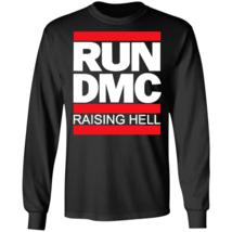 USA Cool Gift - Run DMC Official Logo Raising Hell Long Sleeve T-Shirt S... - $21.59+