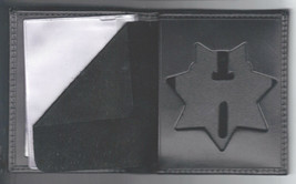 NYC-Auxiliary-Police-Style 7-Point Star Cut-Out Money Wallet (Badge Not ... - $28.01