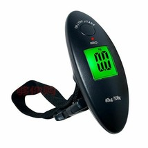 Digital Luggage Scale Portable Travel Airport Baggage Bag Carry Hanging ... - $8.30