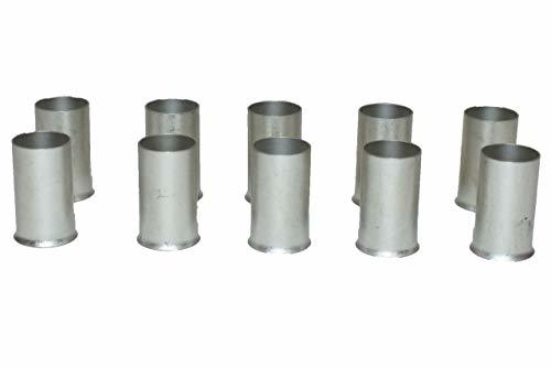 A-Team Performance 2/0 Gauge (Ga.) Ferrules Fittings Non-Insulated Tubes Compres