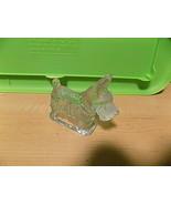 vintage glass scotty dog - $13.37