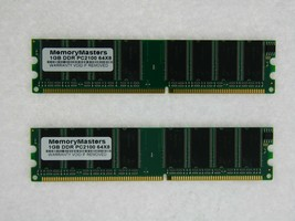 2GB (2X1GB) MEMORY FOR ASUS P4P800 GOLD SE GOLD E DELUXE MX VM X DELUXE