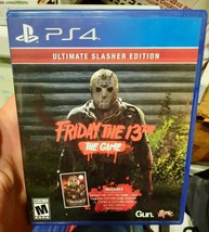 Friday the 13th The Game Ultimate Slasher Edition (PlayStation 4, PS4 2017) MINT - $14.80