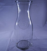 Vintage Glass Bicentennial 1776-1976 Liberty Bell Milk Wine Carafe Bottl... - $9.49