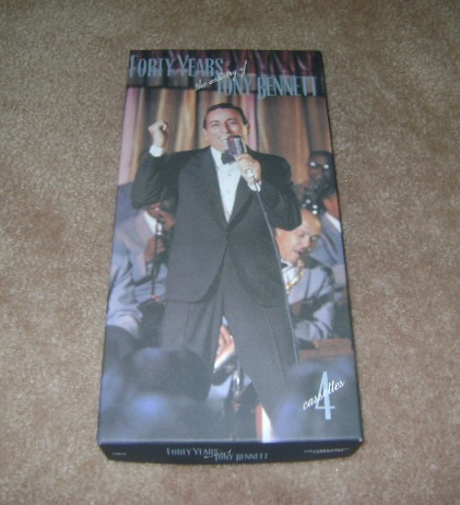 Forty Years: The Artistry of Tony Bennett.  4 Cassette Tapes
