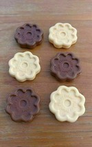 Fisher Price Fun With Food Cookies Chocolate Vanilla Lot of 6 - $23.05