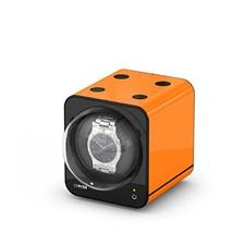 BOXY Fancy Brick Single Automatic Watch Winder - Orange Add On - $140.33