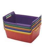 ELR-20516-AS Assorted Small Bendi-Bins with Handles, Plastic Storage Bin... - $33.47