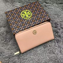 Tory Burch Robinson Saffiano Leather Zip Continental Wallet - $157.00