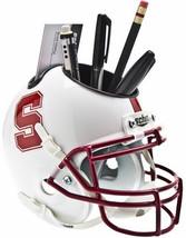 Stanford Cardinal (White) NCAA Football Schutt Mini Helmet Desk Caddy - $21.95