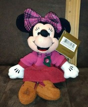 Disney Bean Bag Plush - OCTOBER BIRTHSTONE MINNIE (Mickey Mouse) (9 inch... - $4.99