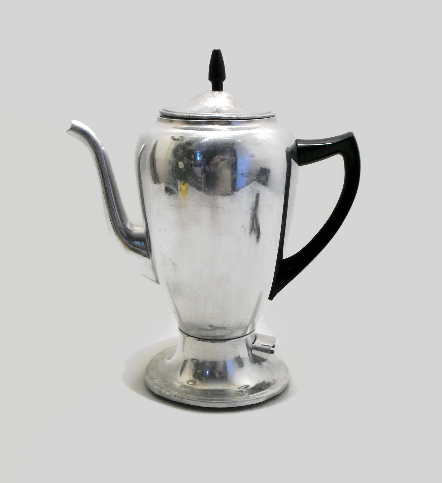 Vintage Mirro Matic 10 Cup Electric Coffee Pot Maker