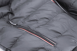 Men's Sherpa Lined Lightweight Hooded Zipper Insulated Quilted Puffer Jacket image 9