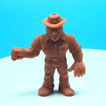 M.U.S.C.L.E. Mattel muscle men wrestling action figure flesh #155 Shyane... - $9.85