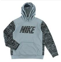 NIKE Nike KO Camo Block Pullover Mens Grey/Black Training Hoodie, Large - $34.11