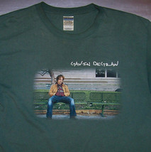 Gavin Degraw / Chariot Stripped 2003 / One Tree Hill / Green T-SHIRT Size L - $24.99