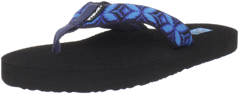 Women's Teva Mush Flip Flops Zima Blue Sz 6 - $24.00