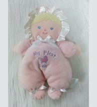 """9"""" Carters My First Doll Baby Lovey Security Plush Toy Blonde 9078 Carriage B350 - $24.99"""