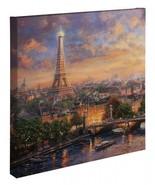 Thomas Kinkade Studios Wrap Paris City Of Love 20 x 20 Wrapped Canvas - $159.00