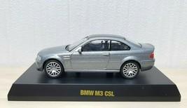 1/64 Kyosho 2003 BMW M3 CSL GREY w/ CARBON ROOF diecast car model - $36.25