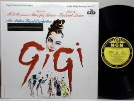 GIGI original Cast soundtrack ♪HEAR♪ STEREO 1958 LP record MGM SE-3641 S... - $8.50