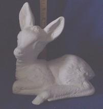 Baby Deer, fawn-  Ceramic Bisque NEW -Vintage  - $12.20