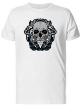 Skull In Ornamental Frame Men's Tee -Image by Shutterstock - $311,55 MXN+