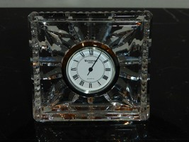 Waterford Crystal Beautiful Desk Clock - $29.00
