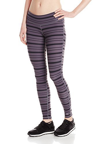 O'Neill 365 Women's Divine Stripe Pant, Gray, Large