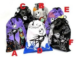 NIP Disney Nightmare Before Christmas, Jack Skellington & Sally Fabric Bag  - $8.00