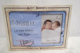 Timeless Wisdom Aunt Birdies Dream Picture Frame Brand New In Box - $27.99