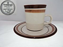 Sango Trend Chocolate 679 Cup & Saucer - $11.99