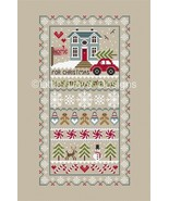 Home For The Holidays cross stitch chart Little... - $10.80