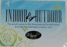 Manual AICWCO Indoor Outdoor Acrylic Throw Blanket Color Cream image 5