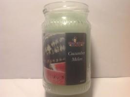 Lot of (3) Home & Garden Party Jar Candle - Cucumber Melon - 10 oz each ... - $18.50