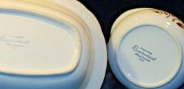 Cumberland Stoneware Mayblossom Gravy Bowl & Serving Pitcher AA-192035-E  Vintag image 4