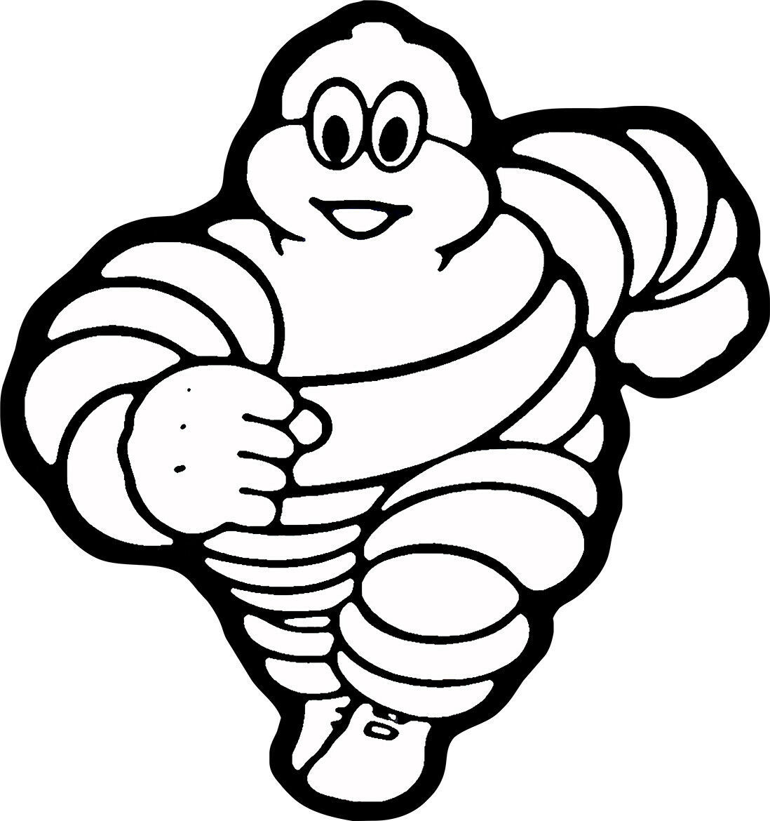 Primary image for Michelin Man Plasma Cut Metal Sign