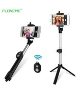 Foldable Mini Selfie Stick Self Bluetooth Selfie Tripod Shutter Remote S... - $16.95