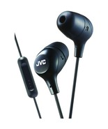 Jvc Marshmallow Inner-ear Headphones With Microphone (black) JVCHAFX38MB - $27.20