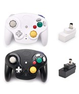 Poulep 2 Packs Classic 2.4G Wireless Controllers Gamepad with Receiver A... - $37.16