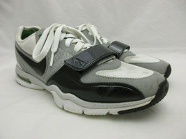 Nike Training Trainer One Air Max Shoes Women's Size 8.5 Gray White Blac... - $27.74