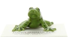 Hagen-Renaker Miniature Ceramic Frog Figurine Green Tree Frog image 4