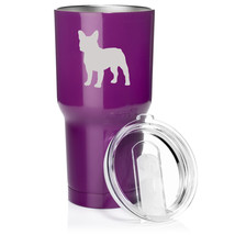 30 oz. Tumbler Mug Travel Cup Vacuum Insulation Stainless Steel French B... - $29.99