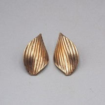 Vintage Goldtone Post Earrings 1980's - $13.85