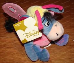 Butterfly Eeyore (Disney Store, 35499) Easter 2000, Beanie (Winnie Pooh) Plush - $9.90
