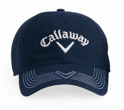 """New"" Callaway Golf Pro Stitch Cap ~ Navy ~ First Quality - $9.89"