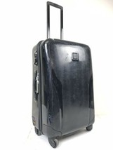 Tumi T Tech Black Polycarbonate Hardcase Luggage Spinner Suitcase 5705D - $180.00