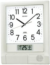 SEIKO CLOCK ( Seiko clock ) wall clock program clock radio clock twin -Pas PT201 - $276.36