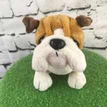 Ganz Webkinz Bull Dog Plush Stuffed Animal Sitting Soft Toy - $9.89